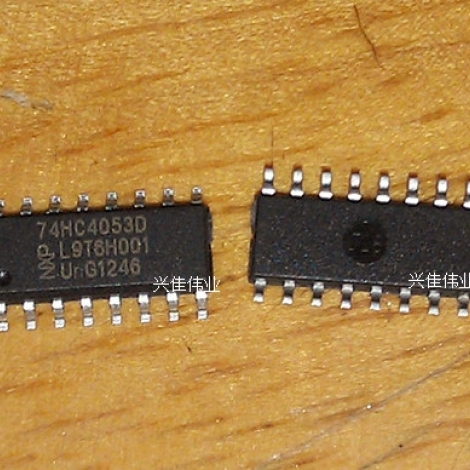 Аналоговый мультиплексор 74hc4053D
