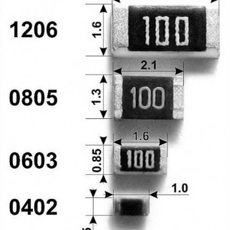 SMD резиcтор 0805 12Ком