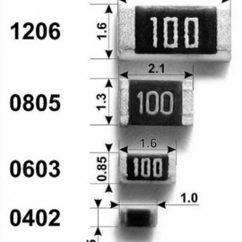 SMD резиcтор 0805 1Ком