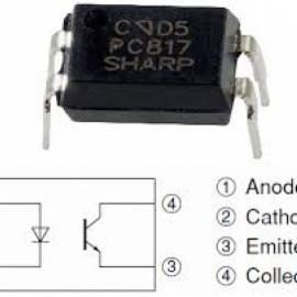 Оптопара DIP PC817